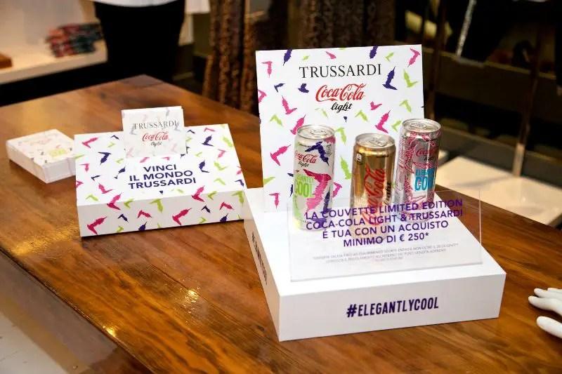 #ElegantlyCool: Coca-Cola veste Trussardi