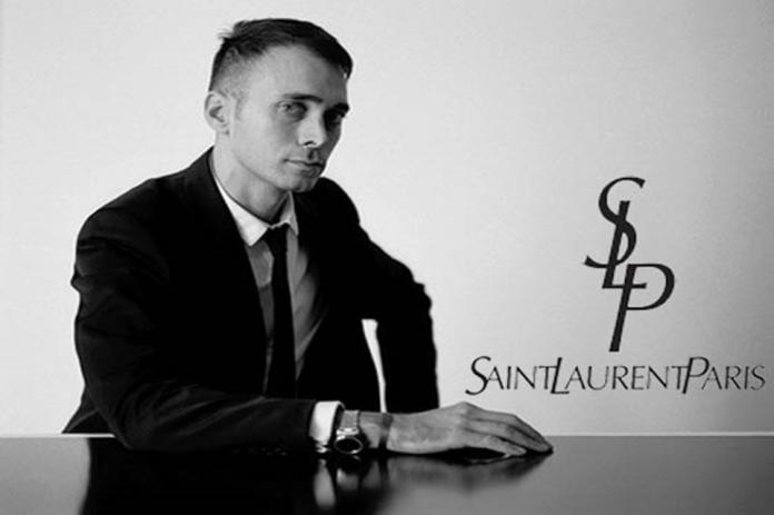 "Hedi Slimane e la nuova firma ""Saint Laurent Paris"""