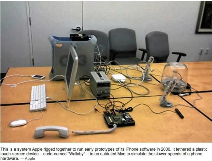 La stanza dove fu progettato e ideato il primo iPhone