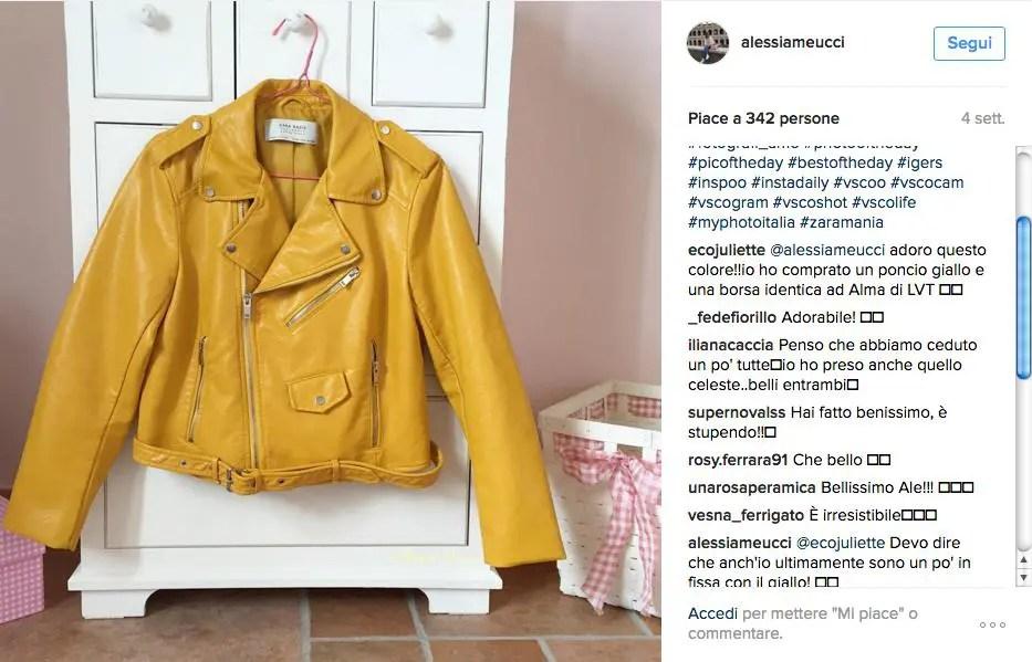 Il chiodo giallo di Zara è un tormentone: Selvaggia