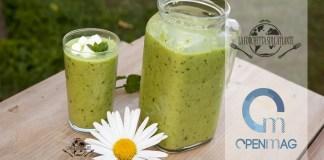Gazpacho di cetrioli e peperoni verdi