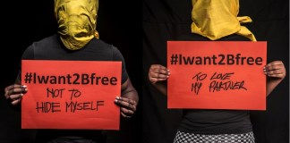 campagna #Iwant2Bfree
