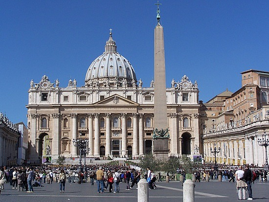 arrivo a San Pietro