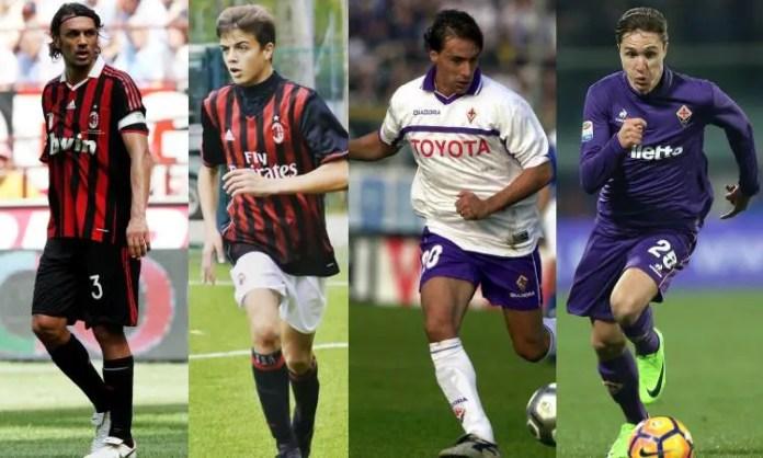 Figli d'arte del nostro calcio fra passato, presente e futuro