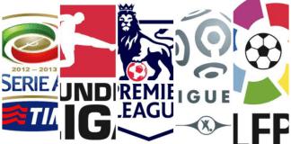 Differenze e curiosità sui 5 top campionati europei