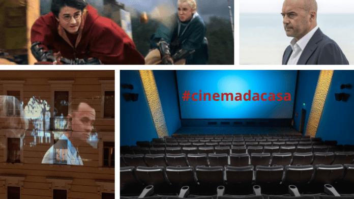 #cinemadacasa: l'industria dei film si reinventa