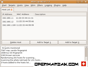 openmaniak ettercap man in the middle attack