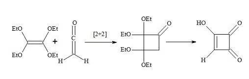 Figure 14. Synthesis of semisquaric acid