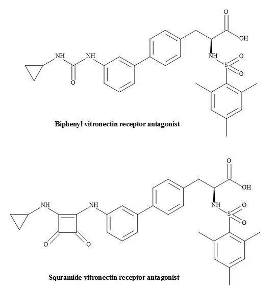 Figure 61. Vitronectin receptor antagonists