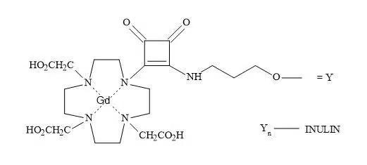 Figure 89. Squaramide contrast agent for MRI.