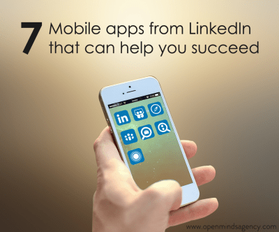 7 Mobile Apps from LinkedIn