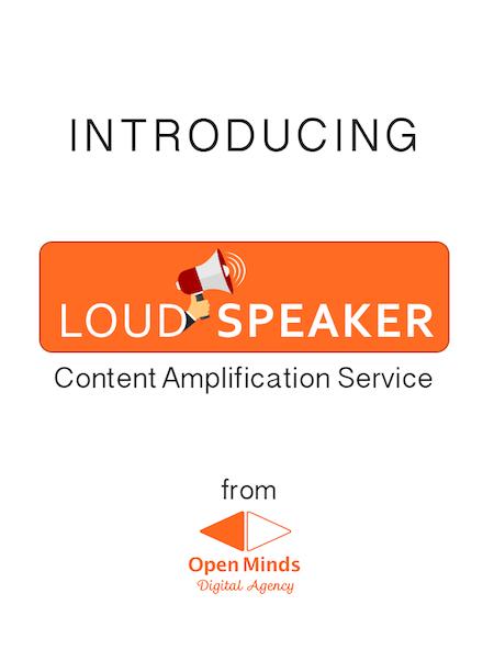 Introducing Loudspeaker Content Amplification Service