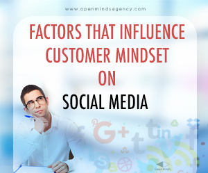 Factors that influence customer mindset on social media