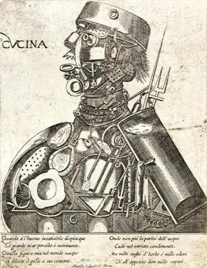 Unbekannter italienischer Kupferstecher, Humani Victus Instrumenta: Ars Coquinaria