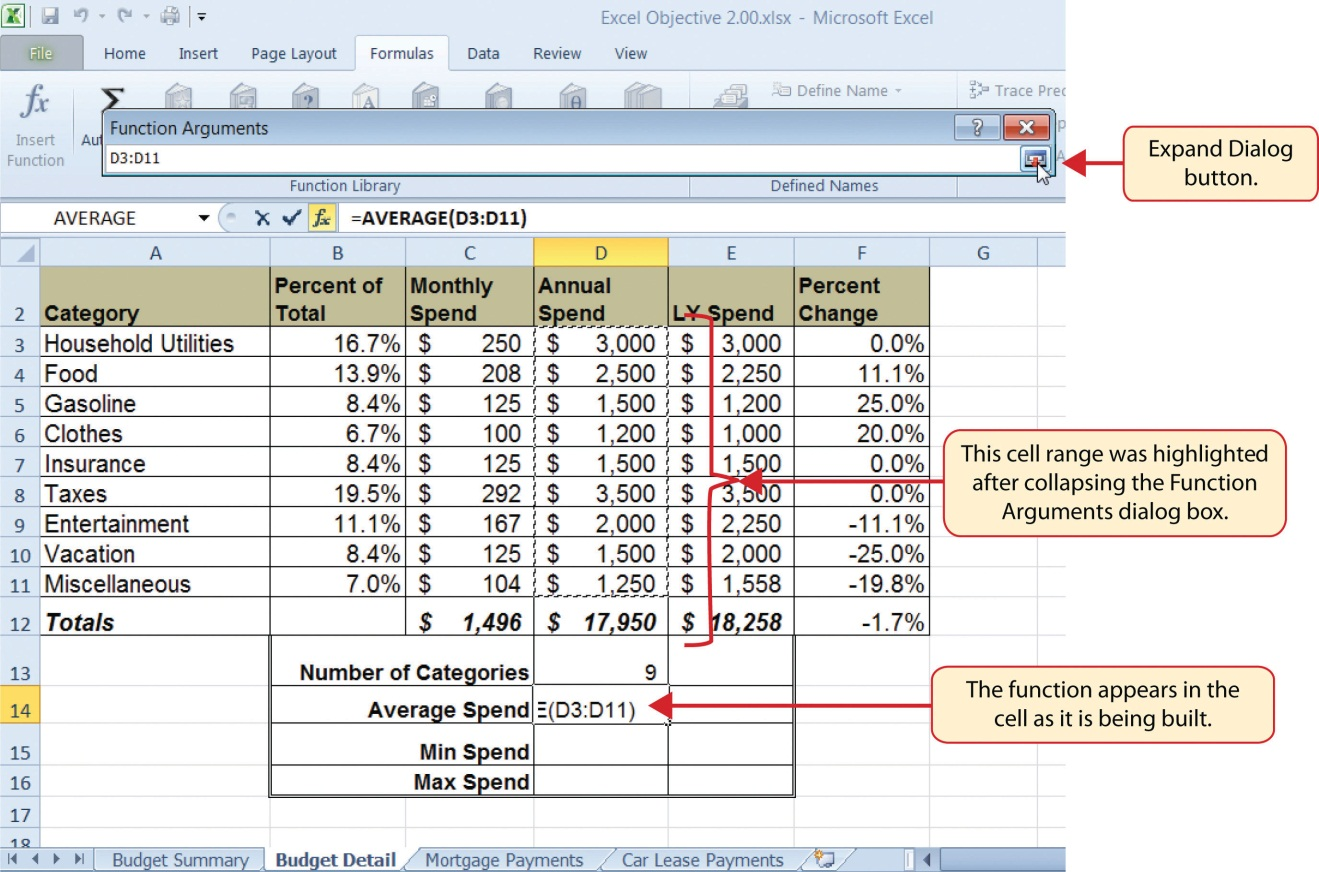 2 2 Statistical Functions Beginning Excel