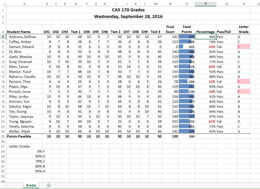 3 3 Conditional Formatting Beginning Excel