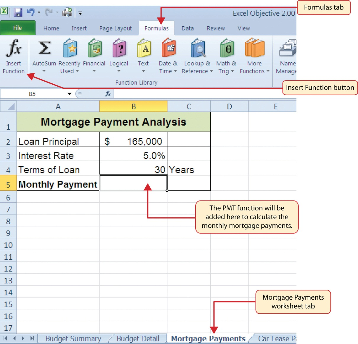 Worksheet To Calculate Deductible Mortgage Interest