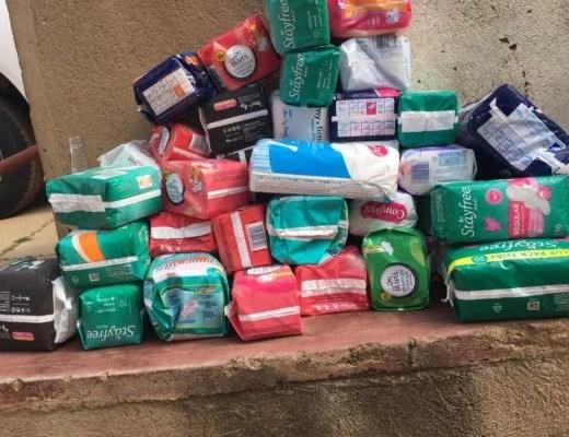 Govt supplying sub-standard sanitary pads in schools