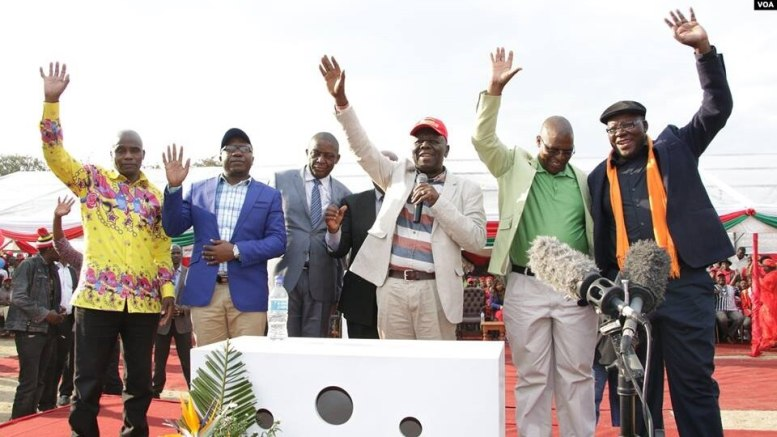 Mwonzora should give us a share of political parties funds: Guchutu