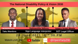 Watch: National Disability Policy and Vision 2030