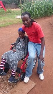 MP Mudambo hands over wheelchair