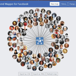 What are the key features of using Facebook Friend Mapper?