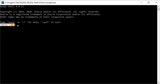 MySQL Command Line Interface