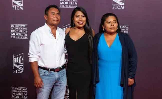 Yalitza y su familia