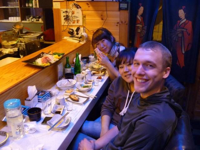 Dinner in Korea