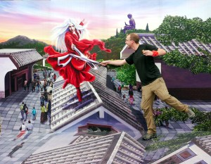 Duel in Ngong Ping
