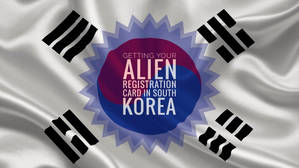 Getting your alien registration card