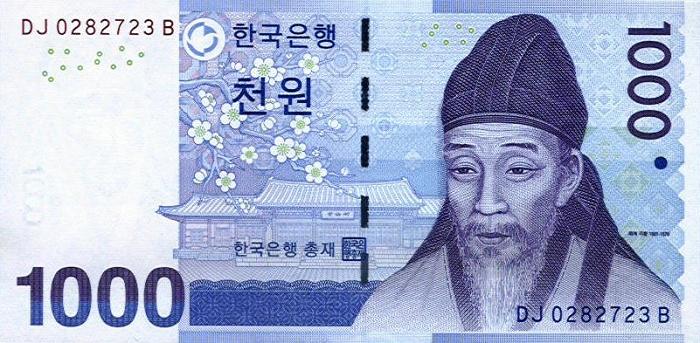 SK 1,000 won