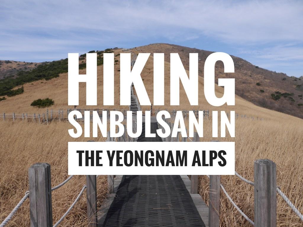 Hiking Sinbulsan