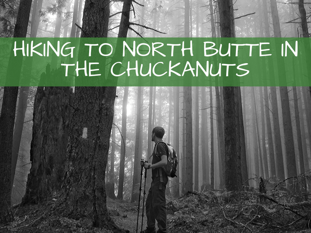 Hiking to North Butte in the Chuckanuts