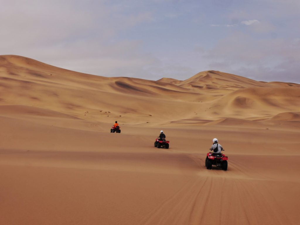 Dune Riding in Swakopmund