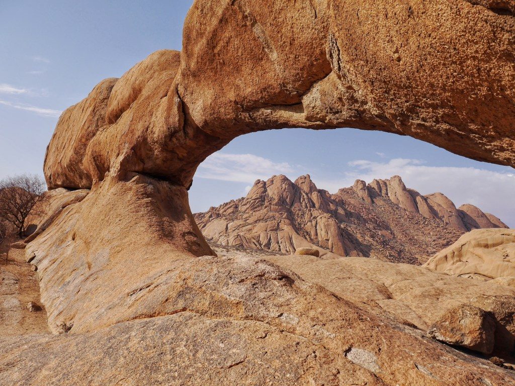 Arch at Spitzkoppe