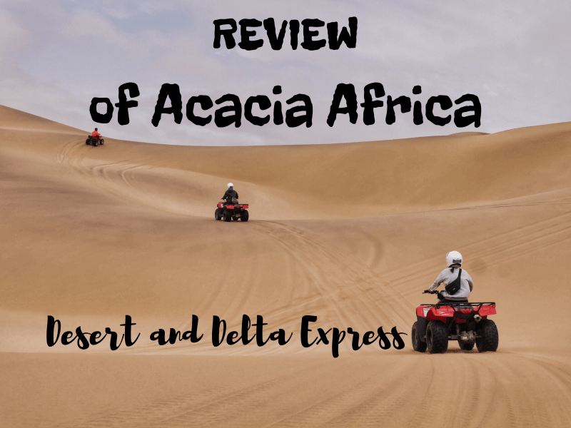REVIEW of Acacia Africa