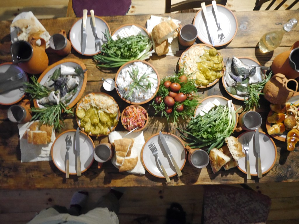Easter Dinner in Armenia