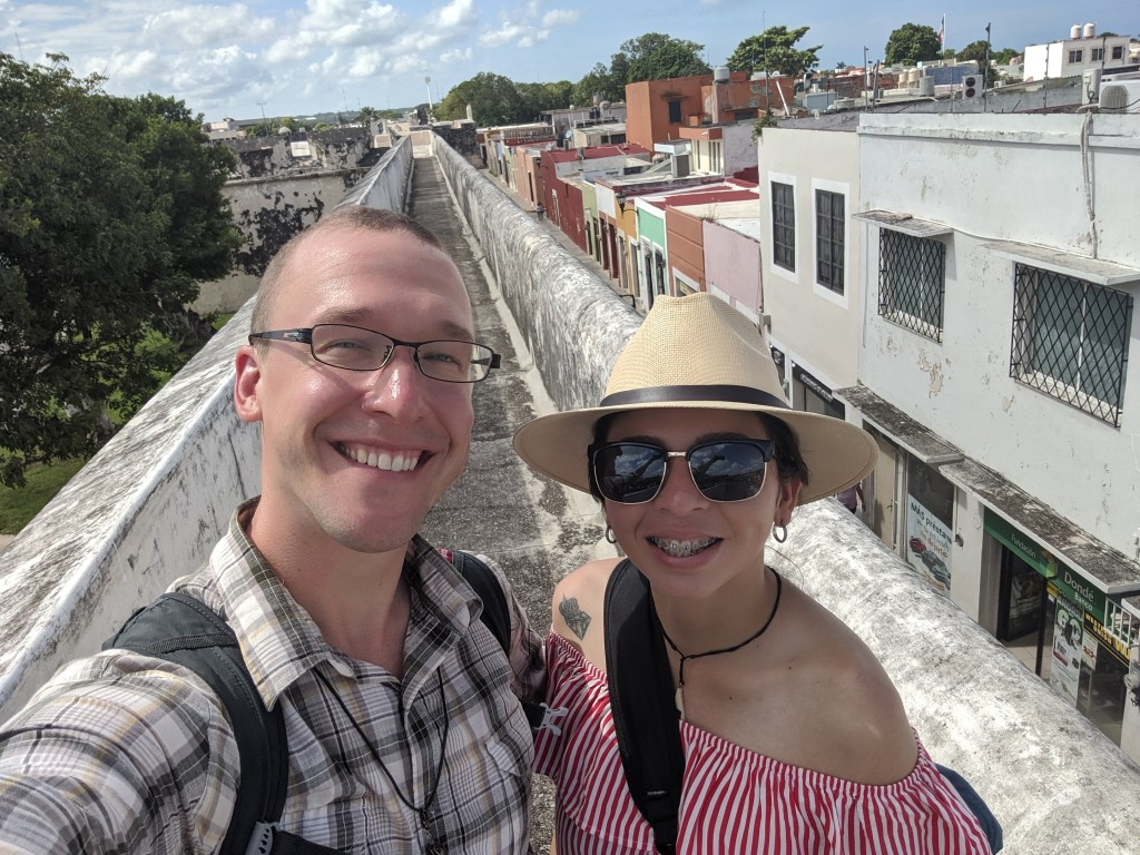 With Luz in Campeche
