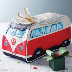 For adults and kids alike, this VW Campervan Wash Bag is the ideal way to carry your toiletries when you head off for your next campervan holiday. Sold by The Little Boy's Room for £25 at Not on The High Street