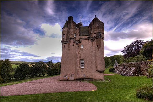 Craigievar Castle. PIc credit: Bryan on Flickr Creative Commons.