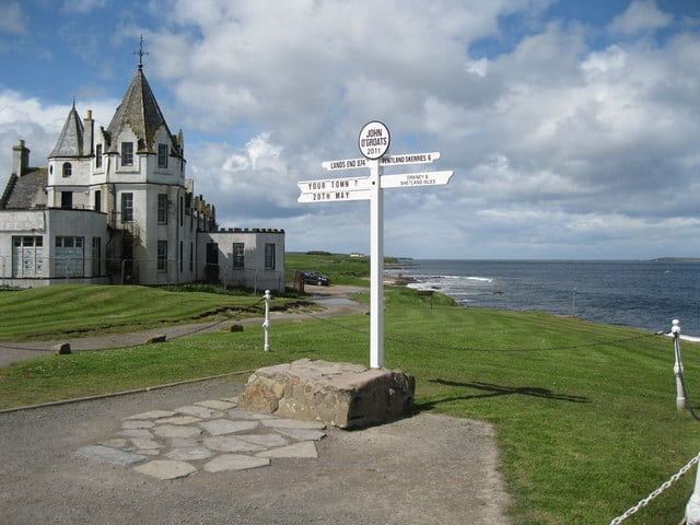 John O' Groats. Pic credit: Bob Jones.