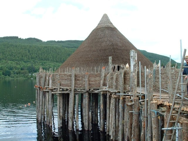 Scottish Crannog Centre. PIc credit: John Phillips