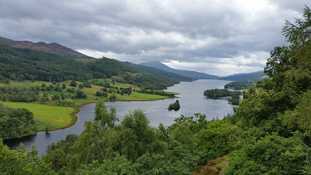 Queen's View in Perthshire.