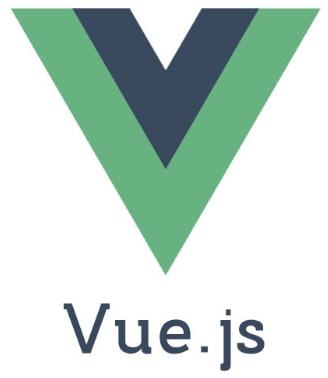 Logo of vuejs with a green coloured V alphabet