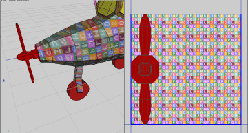 Figure 16: The propeller unwrapped