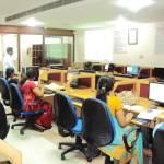 Baskar Selvaraj at KCG College of Technology, Chennai, conducting a FOSS workshop