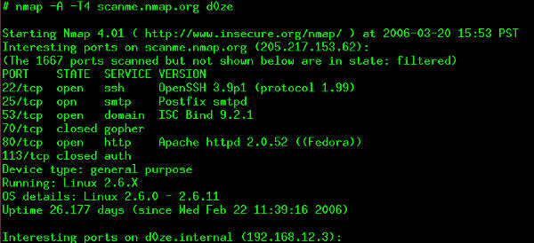Have you checked out the new Nmap yet?
