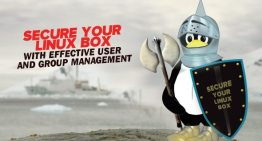 Secure your Linux Box with effective user and group management