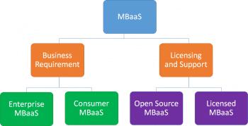 Figure 5: Categorisation of MBaaS